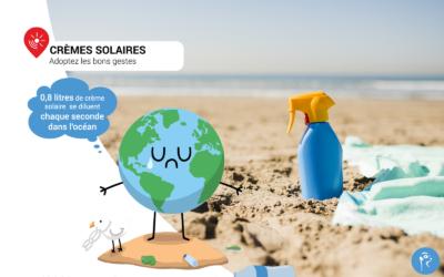 Crème solaire, se protéger du soleil ou protéger l'environnement, devons-nous choisir ?