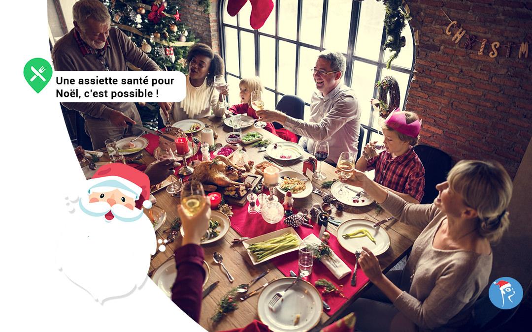 Une alimention saine à Noël, c'est possible !