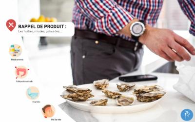 Les huîtres et fruits de mer, risque d'intoxication alimentaire !