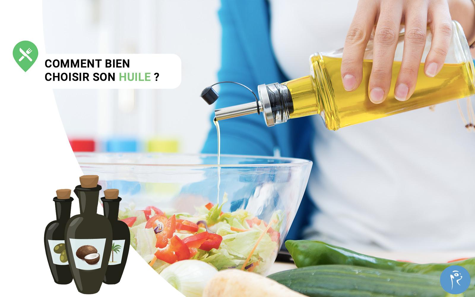 Les différences entre les huiles
