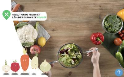Notre sélection de fruits et légumes du mois de Février