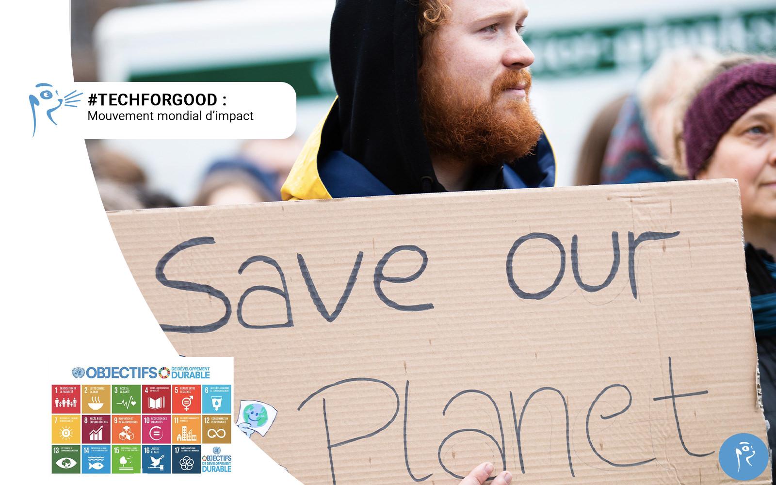 Tech For Good : un mouvement mondial d'impact