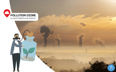 Pollution à l'ozone, le seuil d'alerte est atteint ! Mais nous pouvons nous en protéger.