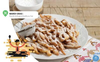 Mardi-Gras : recette de bugnes healthy au four