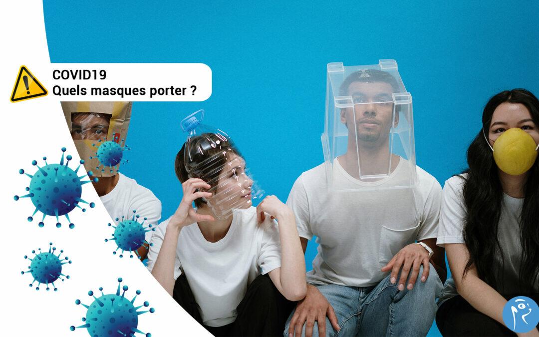 Déconfinement : quels masques vous protègent réellement ?