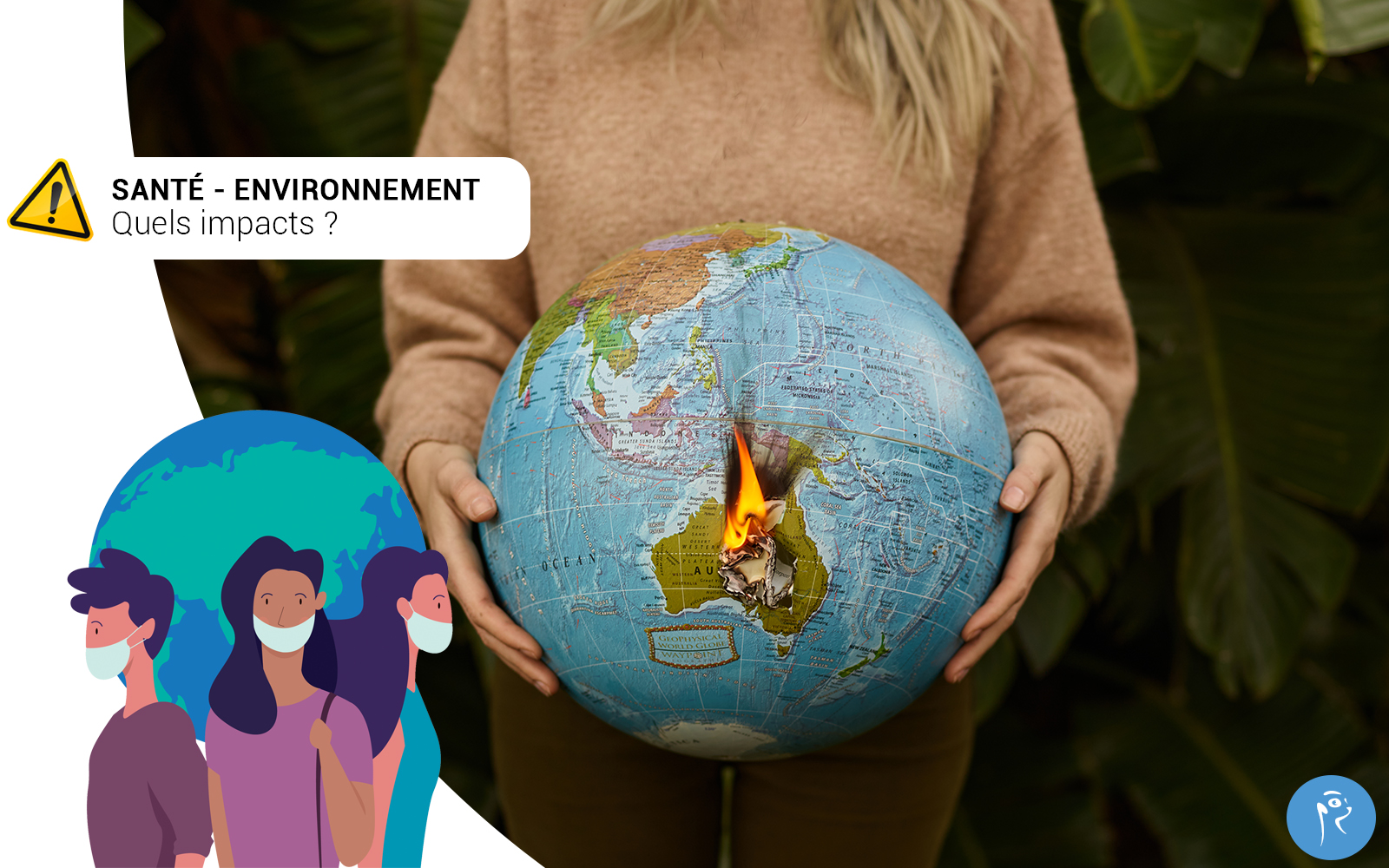 Each year, in the world, it is about 13 million deaths due to the environment and 7 million prematured deaths due to a bad air quality. The environmental health is a primordial stake for public health.