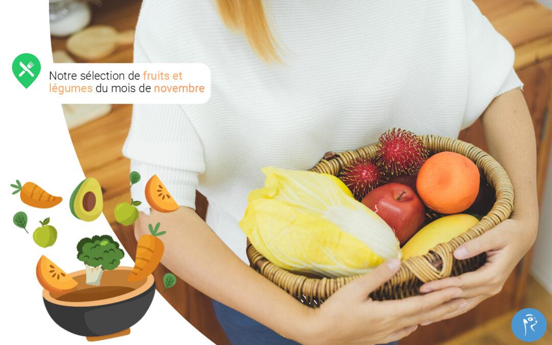 Notre sélection de fruits et légumes du mois de novembre