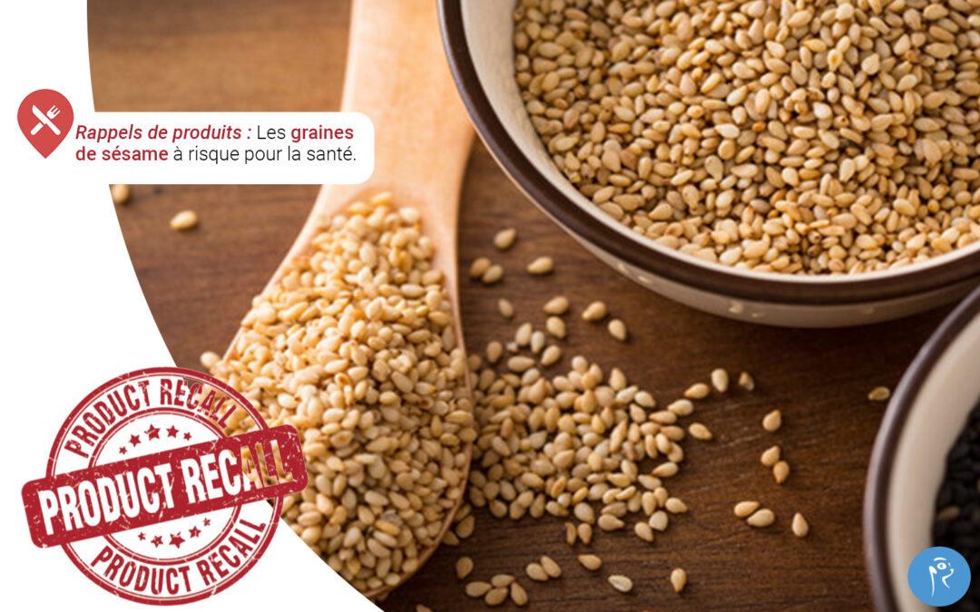 Les graines de sésame à risque pour la santé