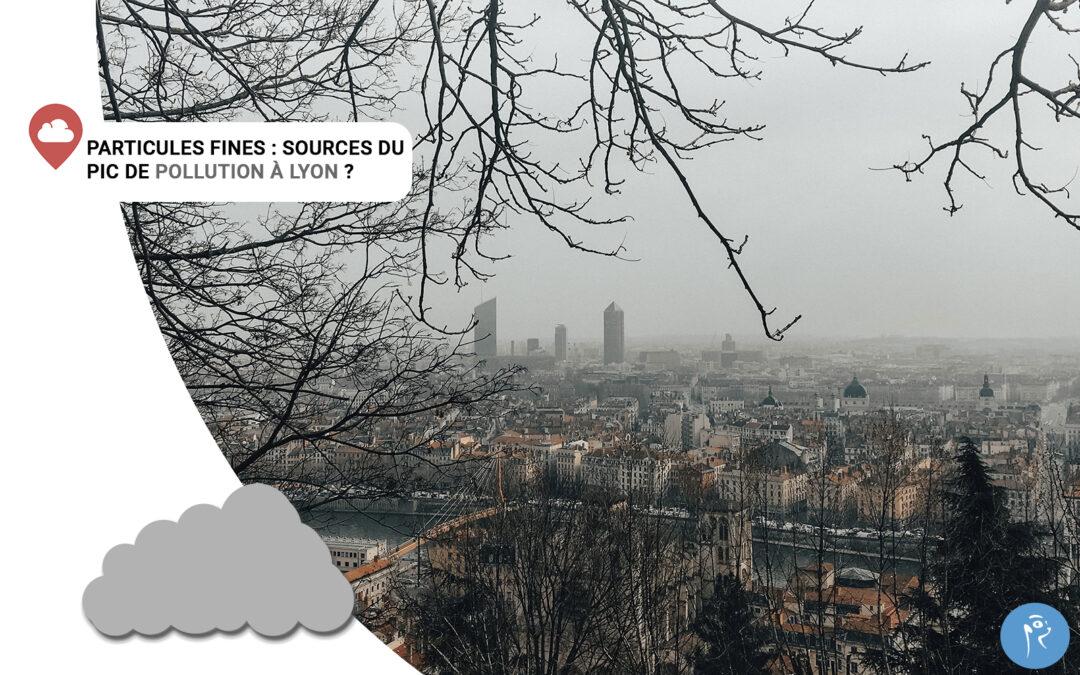 Particules fines: sources du pic de pollutionà Lyon ?