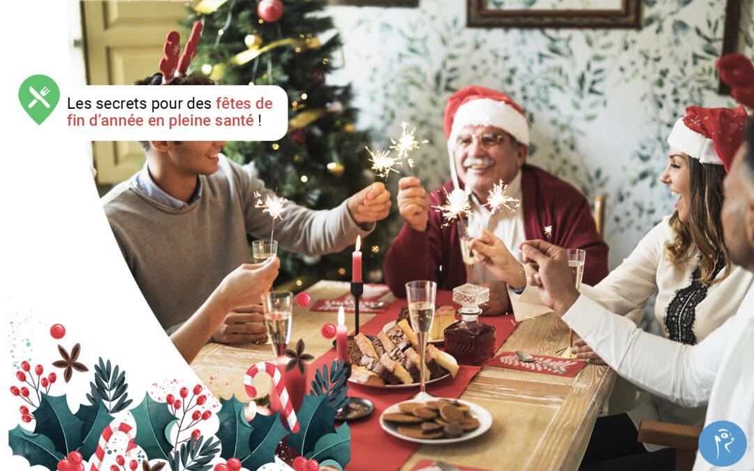 Des fêtes de fin d'année en pleine santé: les secrets