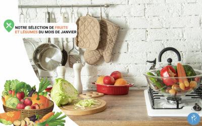Notre sélection de fruits et légumes du mois de Janvier